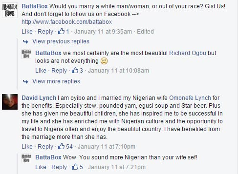 Awww...Adorable: Check Out What This Oyibo Man That Married A Nigerian Lady Said (Photo, Screenshots)