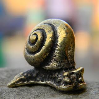 купить фигурку улитка равлик бронза латунь статуэтка украина глюкоморье