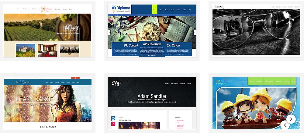 14 Premium WordPress themes by 7 Themes