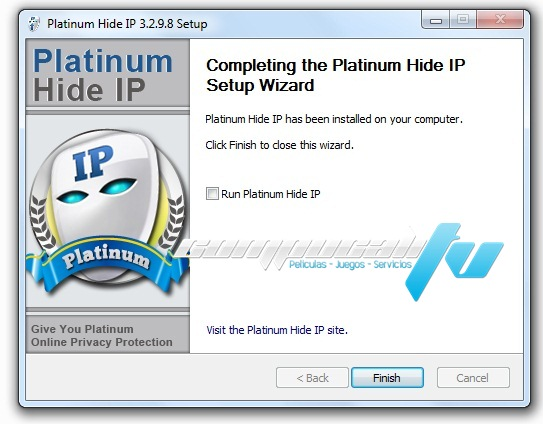 Platinum Hide IP Version 3.2.9 Final