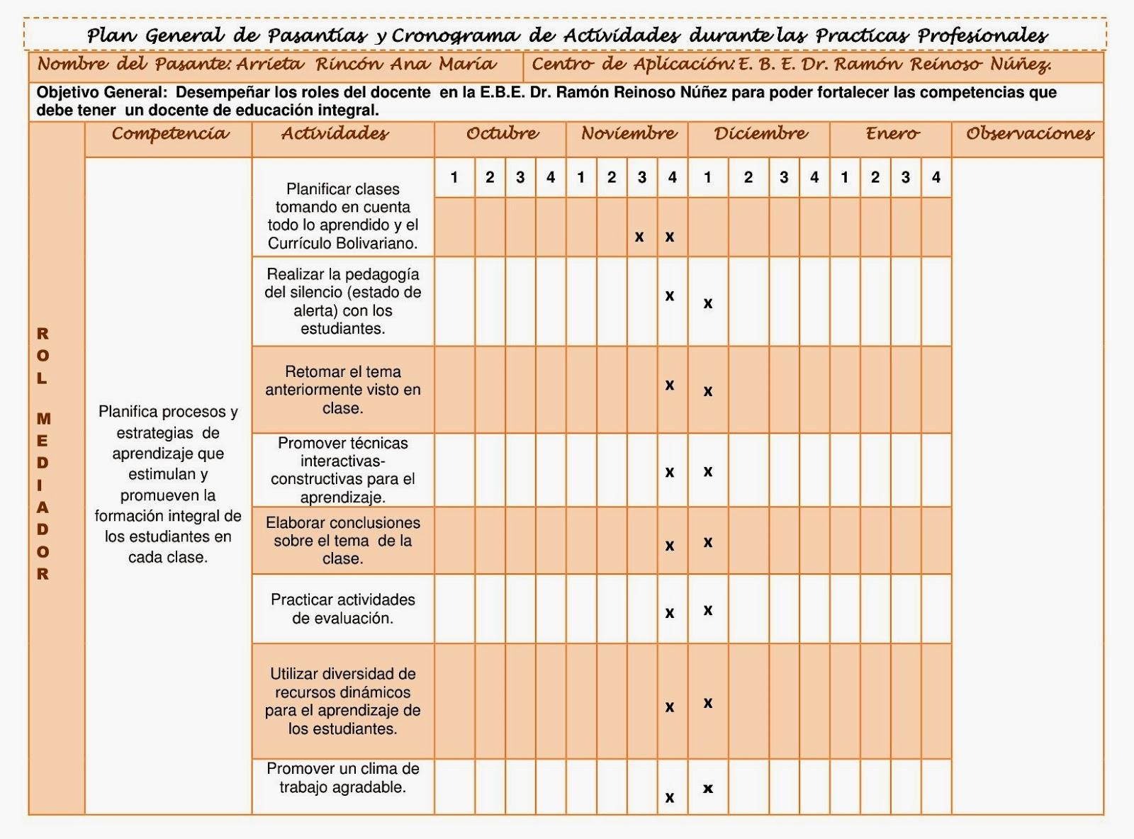 Excelente Retomar Objetivos Profesionales Elaboración - Ejemplo De ...
