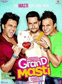 Grand Masti Review By Taran Adarsh, Rajeev Masand, Komal Nahata, Anupama Chopra