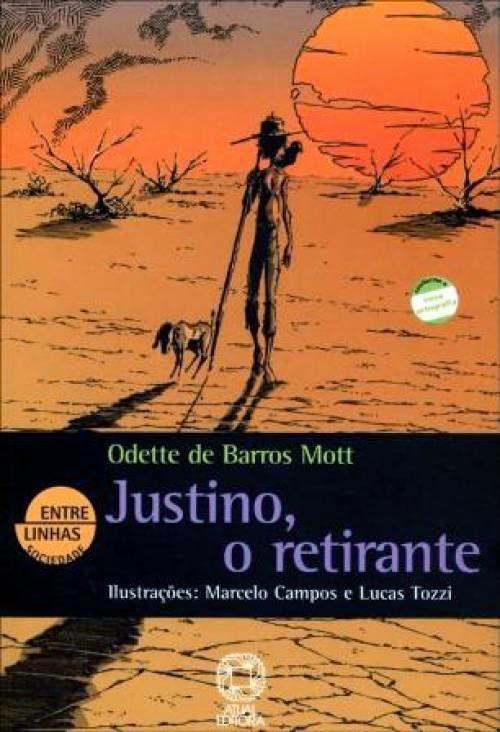 """Justino """"O Retirante"""" #DicaDeLivro"""