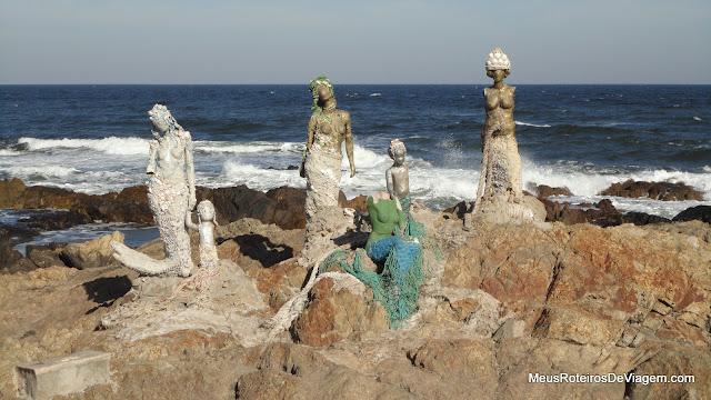 Esculturas em Punta del Este, Uruguai