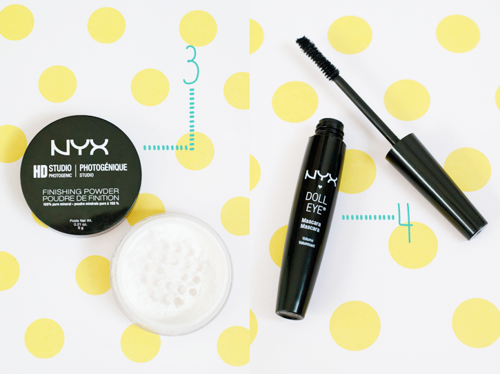 nyx makeup mascara review