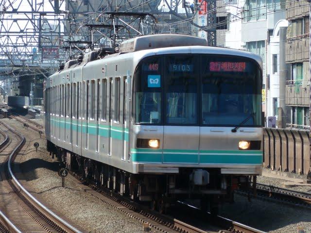 東京メトロ南北線 急行 浦和美園行き1 9000系
