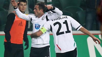 Legia Warsaw 3 - 1 Rapid Bucuresti (1)