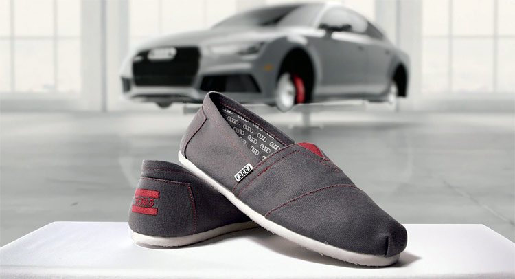 Vw Owned Brands >> Get A Pair Of Special Edition Toms Shoes With Each Audi This Summer