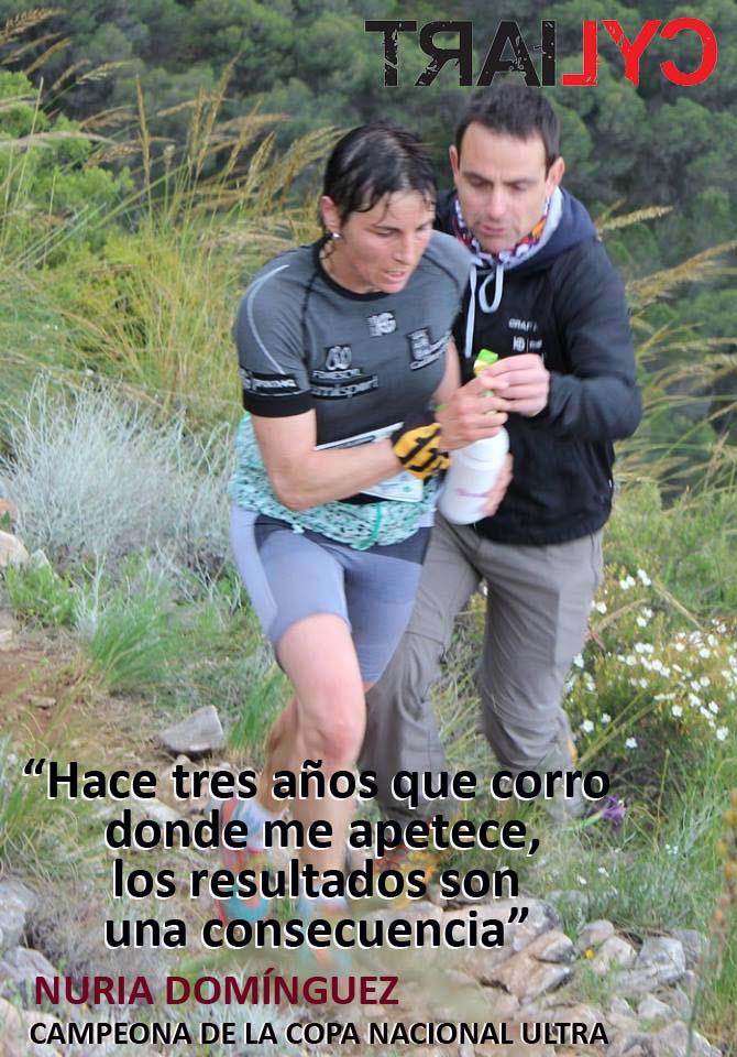 Nuria Domínguez, ganadora de la Copa de España Ultra. /TRAILCYL