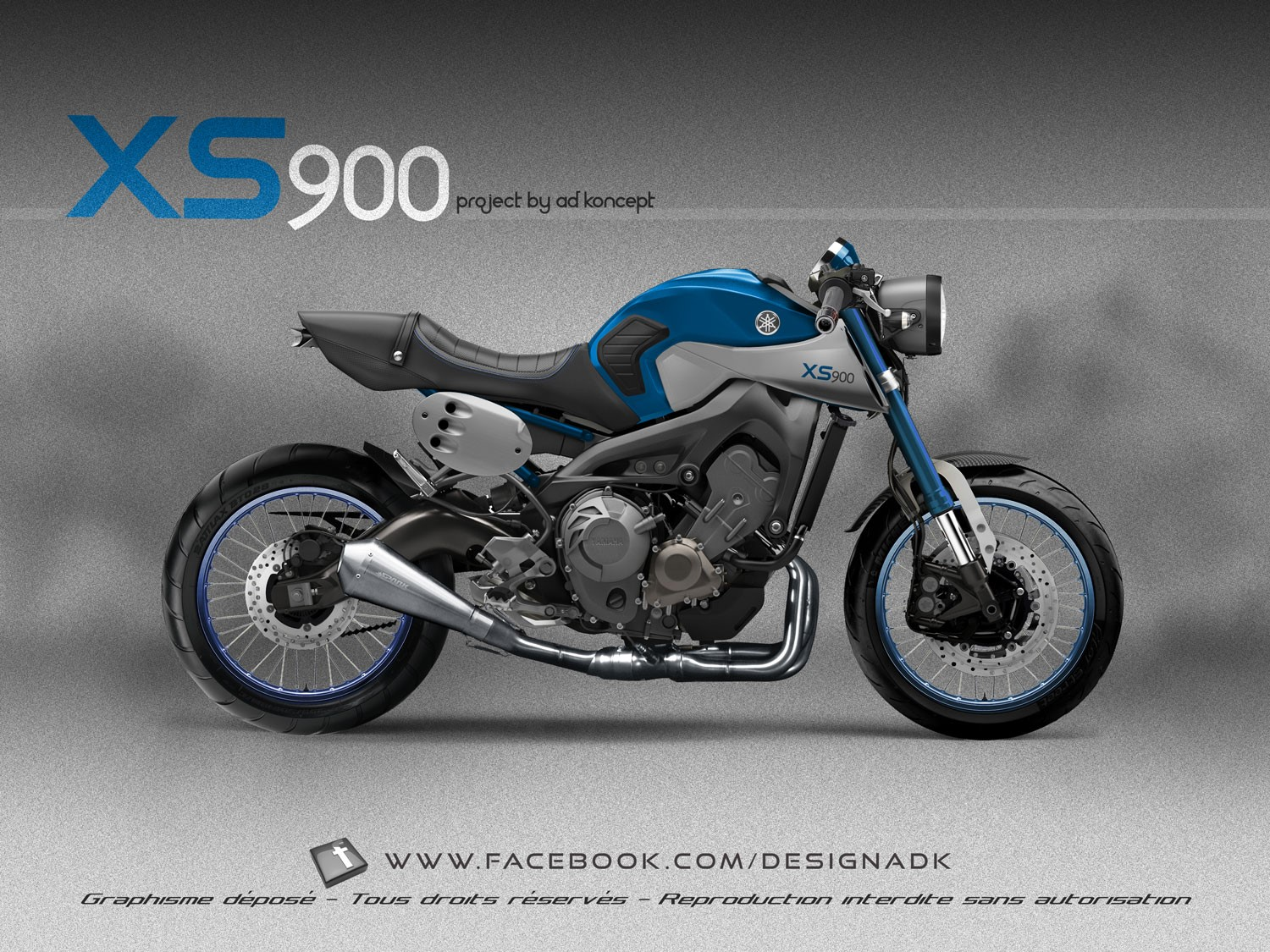 Racing Caf 232 Design Corner Yamaha Xs 900 By Ad Koncept