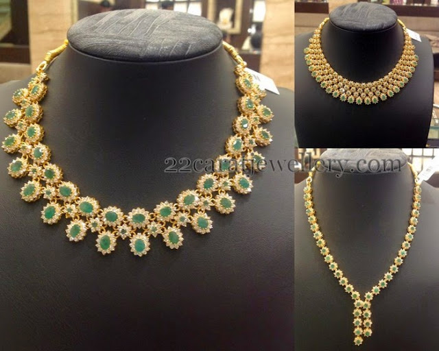 Emerald CZ Necklaces Gallery