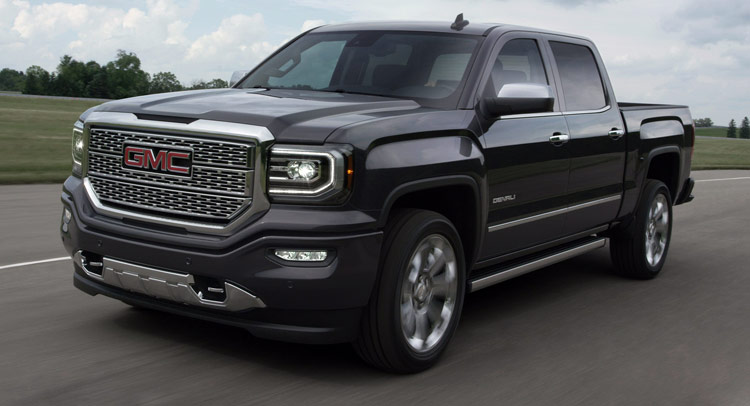 New Gmc Truck >> 2016 Gmc Sierra Truck Shows Its New Face