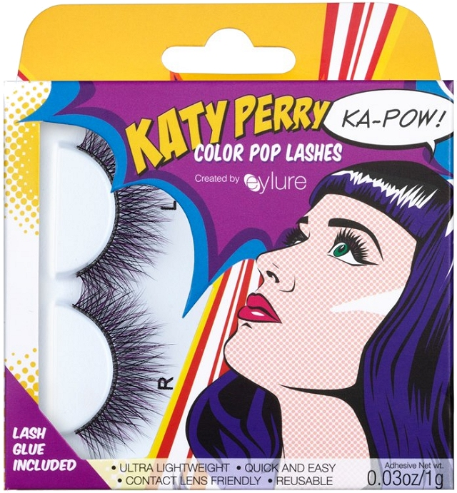 katy perry eylure color pop false lashes 2013