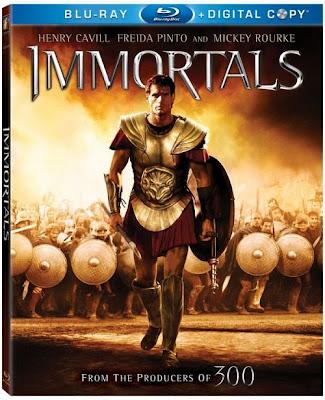 Immortals (2011) 720p BRRip 623MB mkv Dual Audio