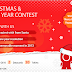 Contest !! Wishing You Merry Christmas & Happy New Year 2014 Win Smartphone, DataCards, T-shirts !! Huawei India