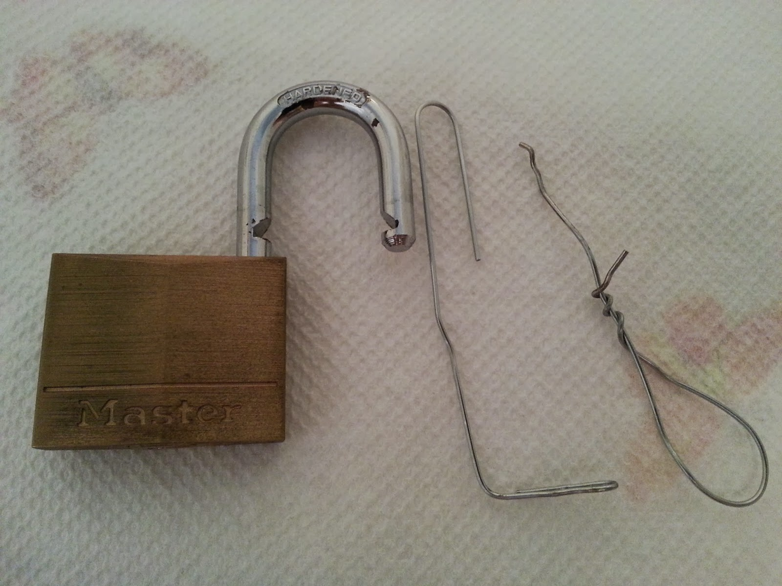 how to pick a master lock. How To Pick A Master Lock C