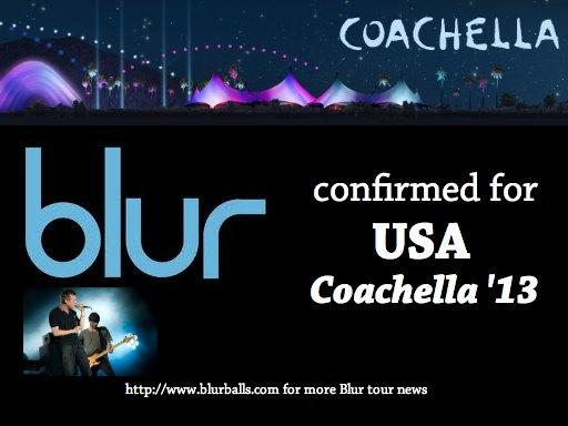 blur coachella, coachella 2013, coachella music, blur coachella 2013, coachella lineup, damon albarn coachella, blur 2013 tour