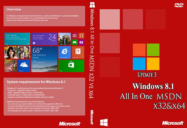 Windows 8.1 Update 3 Full 2015 İndir