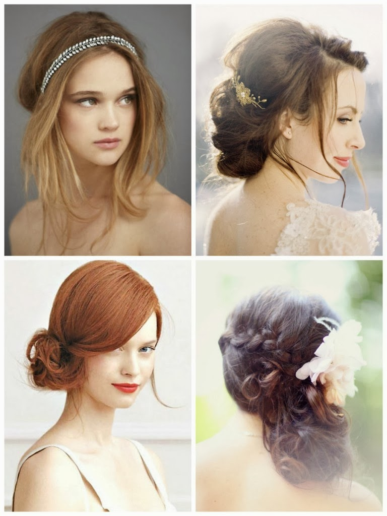 Hair model for wedding 2014