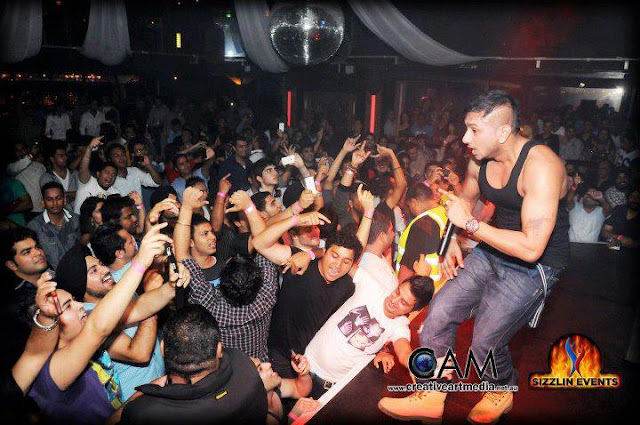 Honey singh live