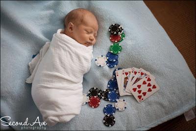 newborn, Virginia photographer, family photographer, poker, black and white, photoblog, portrait photographer, parenting,