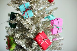 Presentinhos para decoração de natal passo a passo