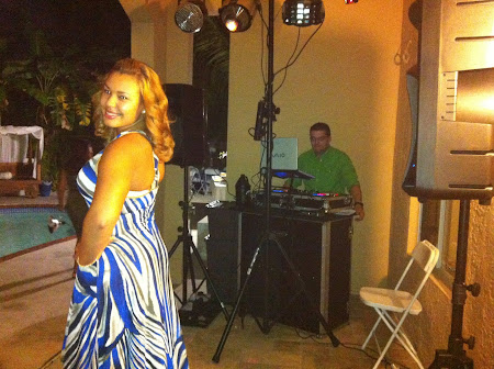 DJ-MEL SETUP AT PRIVATE PARTY