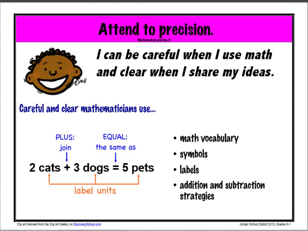Star Summit: Missouri Learning Standards Math