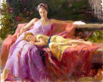 Às mães e aos filhos
