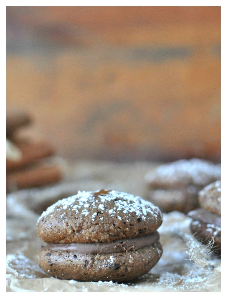 gluten free nougat cookies with christmas spices