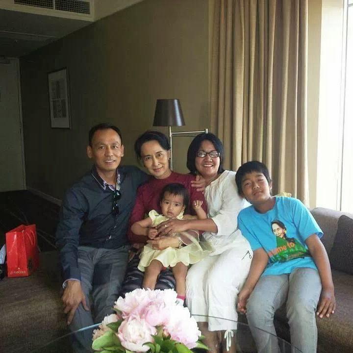 က်မ တုိ႔ မိသားစု ရဲ႕ အမွတ္တရ