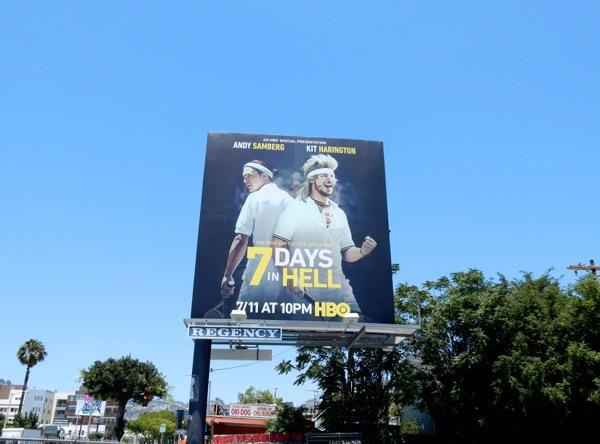 Seven Days in Hell billboard