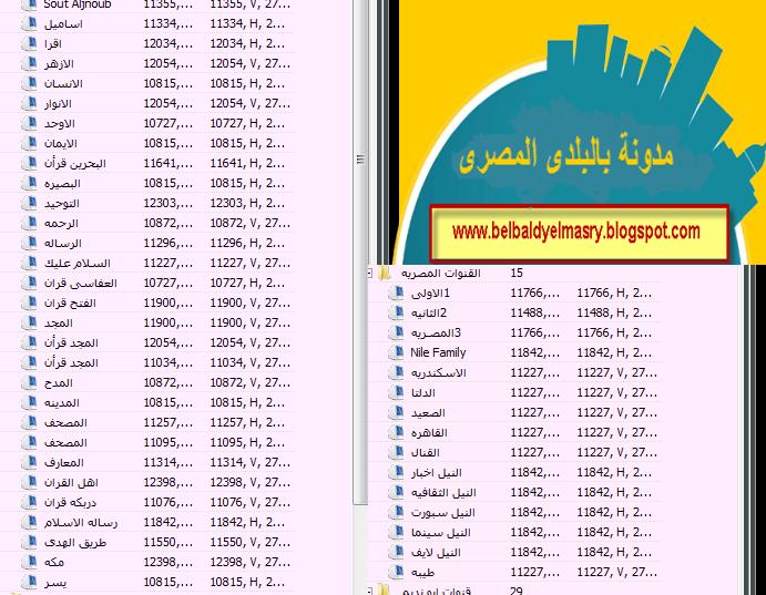 حمل احدث ملف قنوات عربى لبرنامج العرض dvbdream اقمارنيل سات بتاريخ 14.3.2015