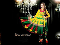 Indian Frocks Designs for Mehndi
