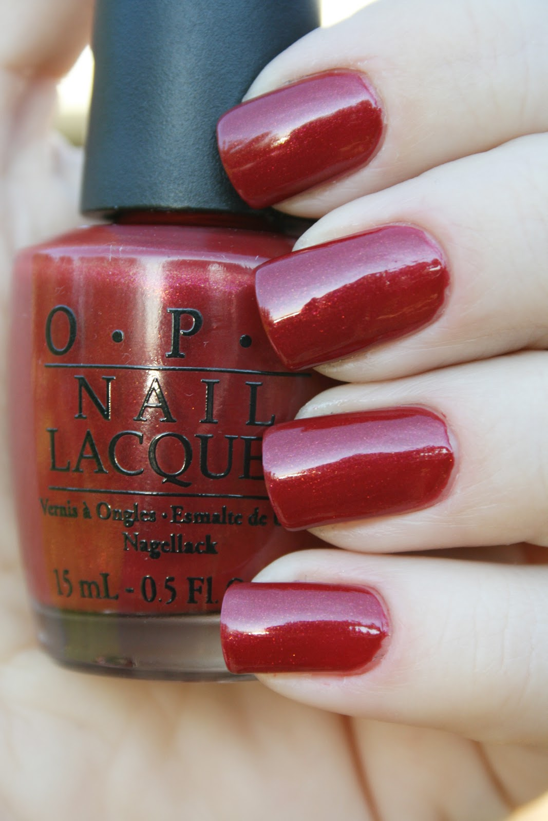 Opi Color To Diner For Nails by Catharina: OP...