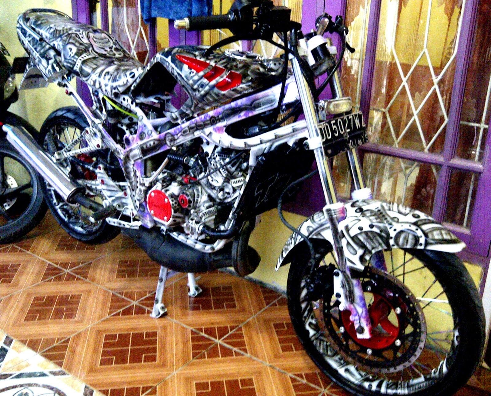 Modifikasi Ninja Kawasaki 150 R Yang Menakjubkn