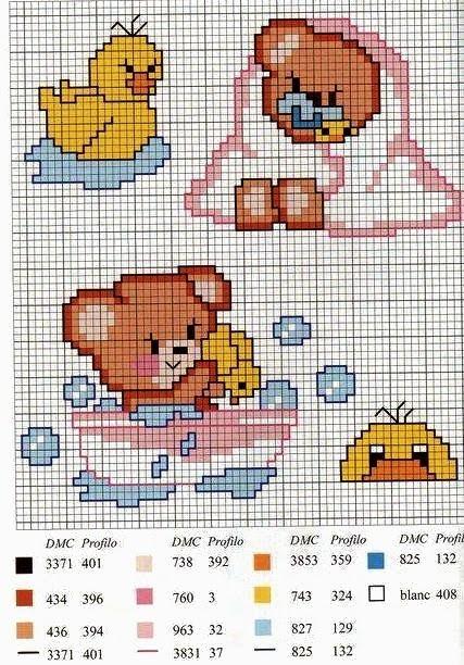 Schemi punto croce per asciugamani bagno disegno domestico for Disegno di piano domestico