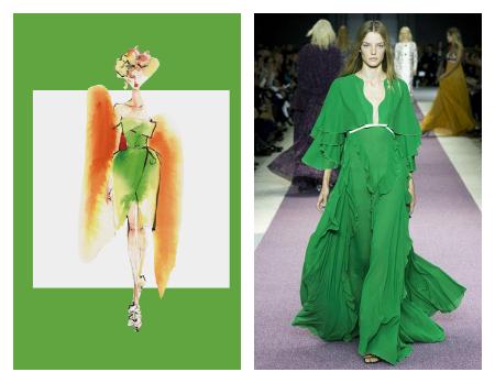 colores primavera verano 2016 pantone moda mujer green flash