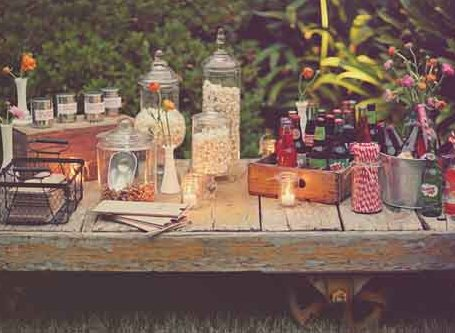 party frosting outdoor movie night ideas