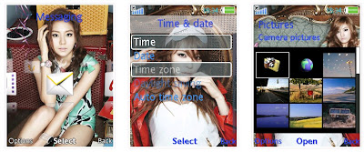After School SonyEricsson手機主題for Elm/Hazel/Yari/W20﹝240x320﹞