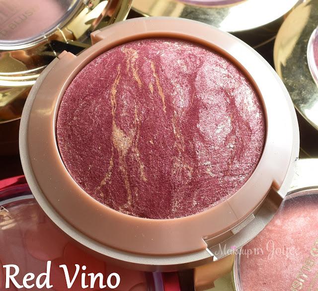 Milani Baked Blush Red Vino Swatch