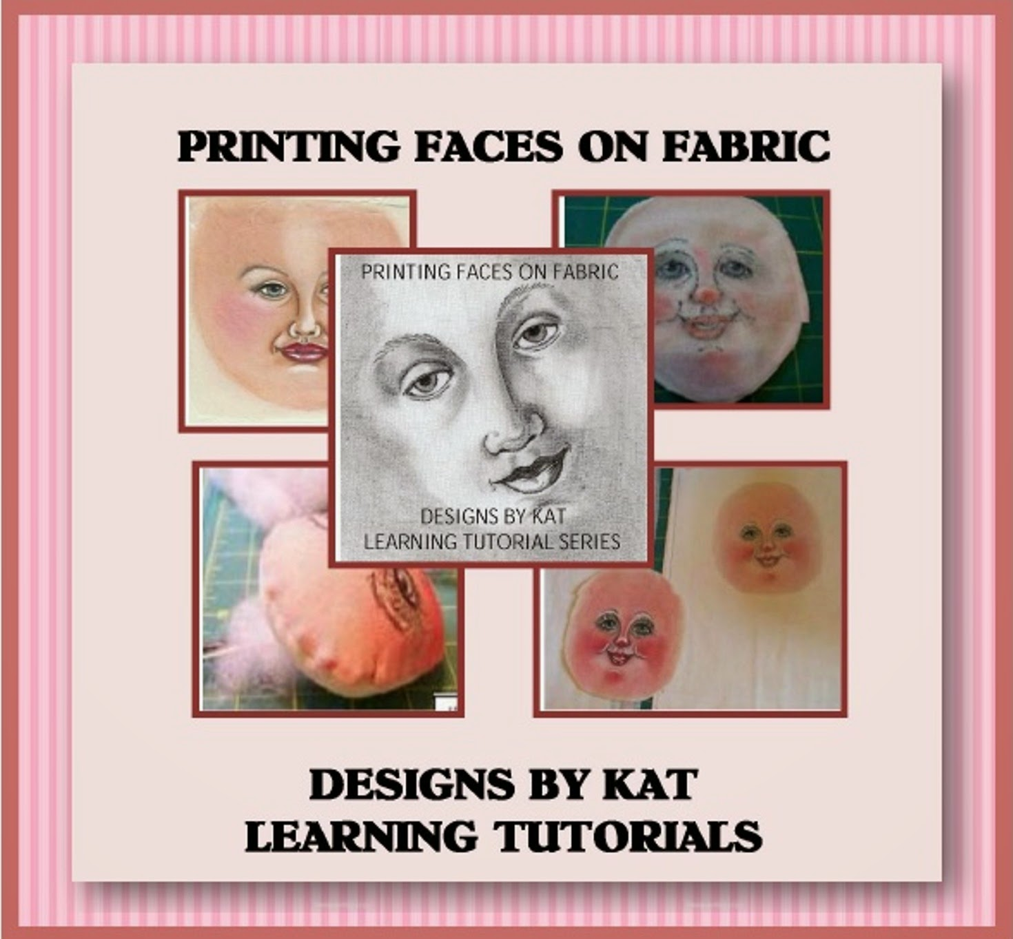 Printing Faces On Fabric Workshop