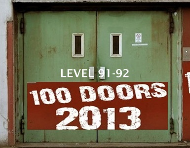 Game 100 Doors 2013 Level 91 92 Walkthrough