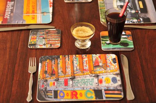 Dehli Days placemats by Ella Doran
