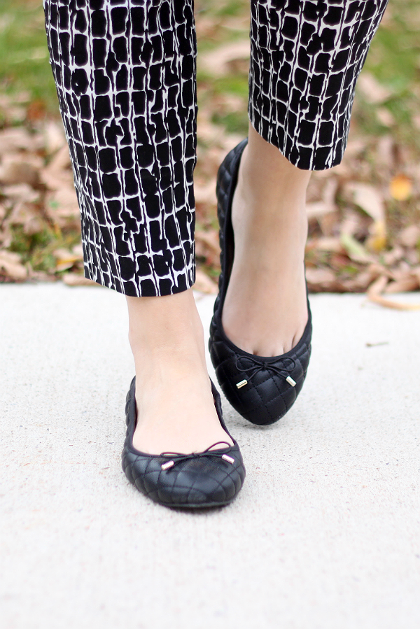 Quilted Zara Flats