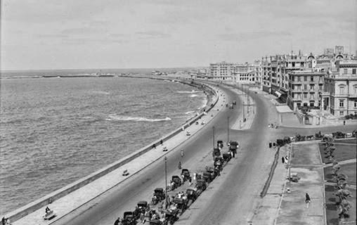 منطقة محطة الرمل..(الآسكندرية)..فى لقطة رائعة تعود الى عام 1920م