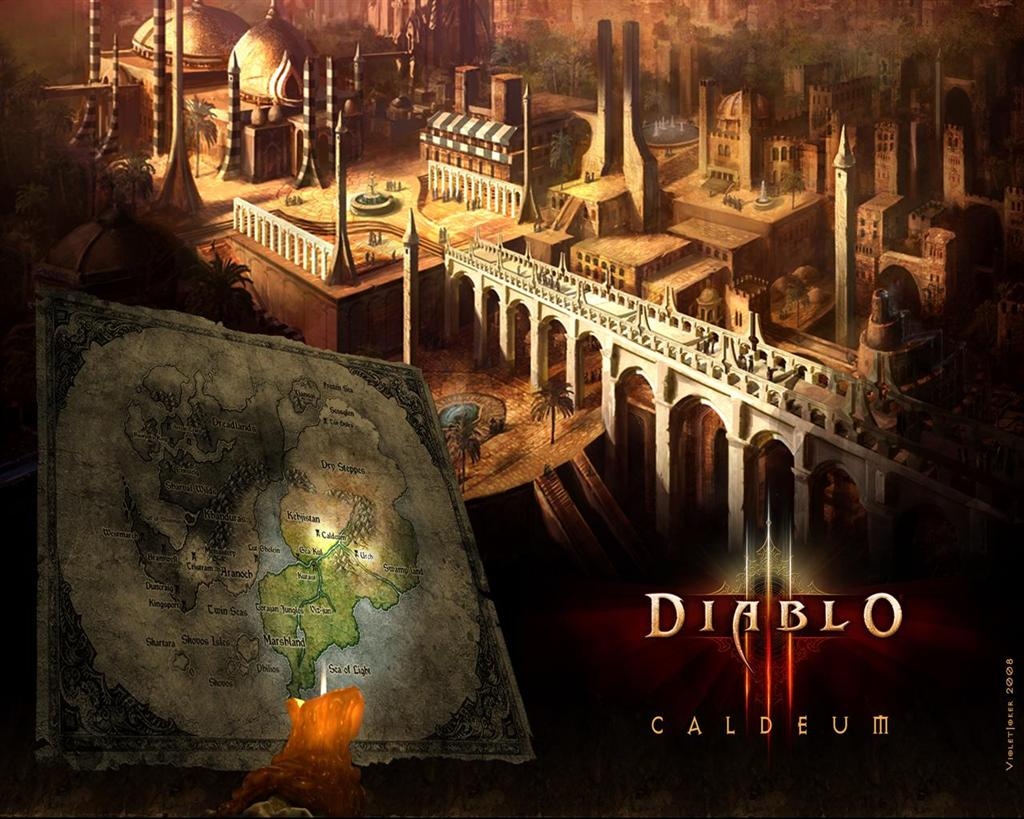 Diablo HD & Widescreen Wallpaper 0.86788607419039