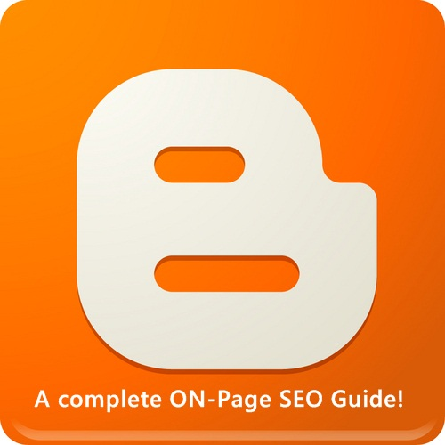 on page seo guide for blogger blogs