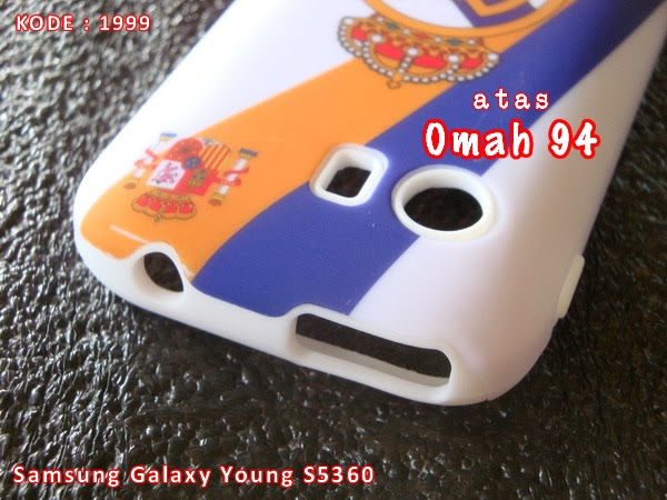 Jual Otterbox Commuter Case Samsung Galaxy Young S5360 Real Madrid