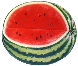 Watermelon, Watermelons, Red Watermelon